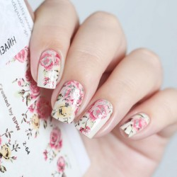646    Stickers Flores+Foil...