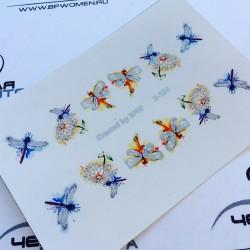 Stickers Flores+Foil 2-154...