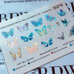Stickers Flores+Foil 2-194...