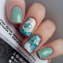 Stickers Flores+Foil 2-602...