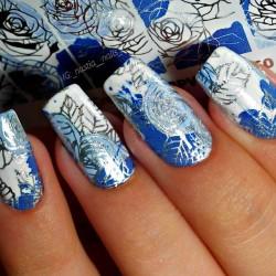 Stickers Flores+Foil 2-603...